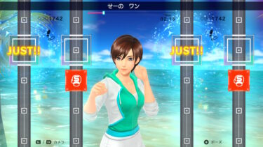 フィットボクシング2【2人プレイ】やり方と感想レポート